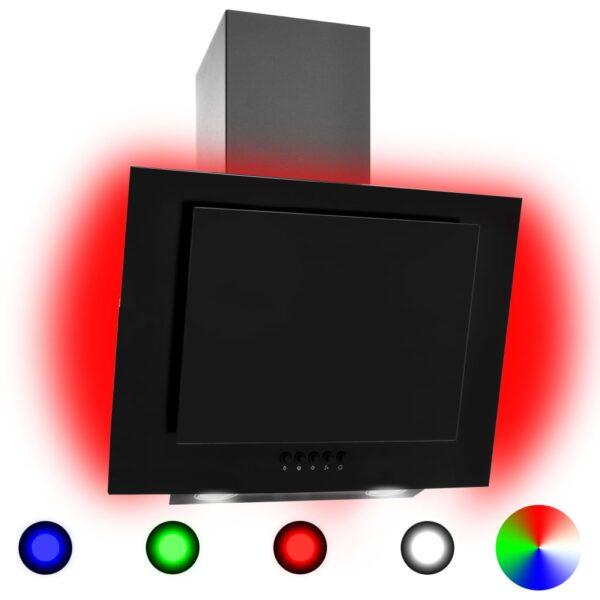 RGB pliidikubu LED 60 cm roostevaba teras ja karastatud klaas