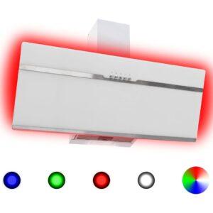 RGB pliidikubu LED 90 cm roostevaba teras ja karastatud klaas