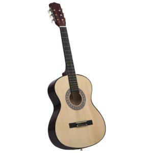 """klassikaline kitarr algajatele ja lastele 3/4 36"""" Ameerika pärn"""