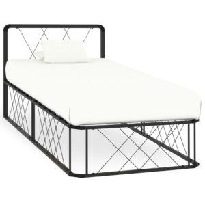 voodiraam hall metallist 90 x 200 cm