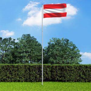 Austria lipp ja lipumast