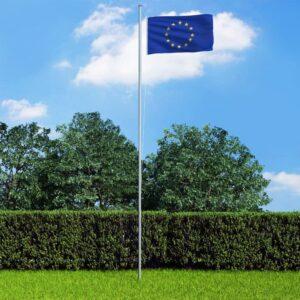 Euroopa Liidu lipp ja lipumast