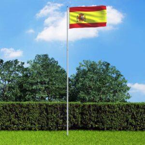 Hispaania lipp ja lipumast
