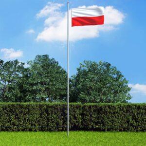 Poola lipp ja lipumast