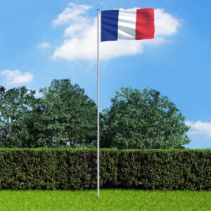 Prantsusmaa lipp ja lipumast