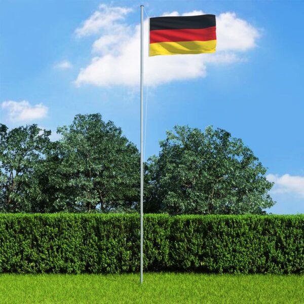 Saksamaa lipp ja lipumast