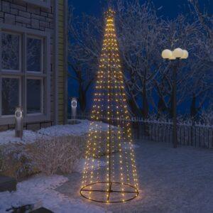 koonusekujuline jõulupuu 330 sooja valget LEDi