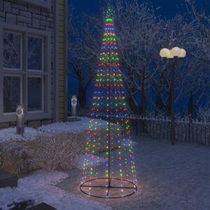 koonusekujuline jõulupuu 330 värvilist LEDi