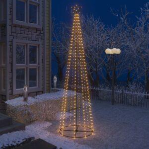koonusekujuline jõulupuu 400 sooja valget LEDi