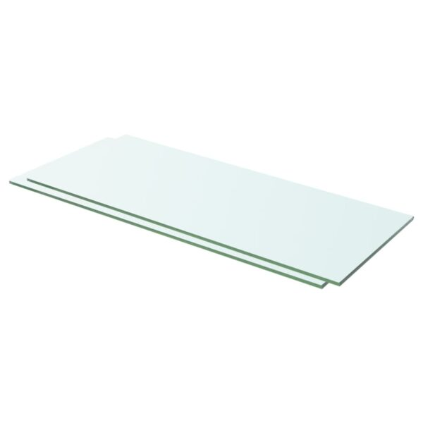 riiulid 2 klaasist planeeli 60 x 20 cm