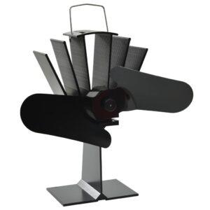 soojusenergial põhinev ahjuventilaator 2 labaga