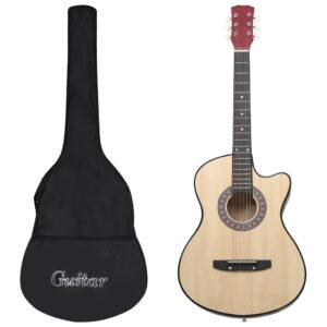 12-osaline akustilise kitarri komplekt 6 keelega