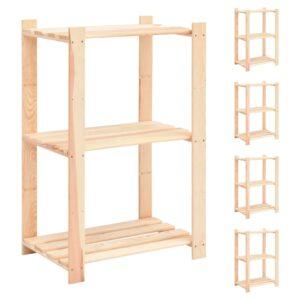3-korruselised hoiuriiulid