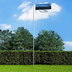 Eesti lipp ja lipumast