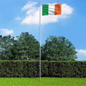 Iirimaa lipp ja lipumast