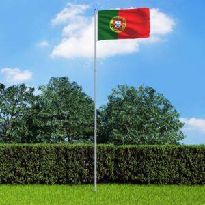 Portugali lipp ja lipumast
