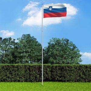 Sloveenia lipp ja lipumast