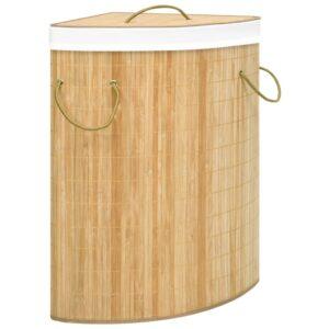 bambusest nurga pesukorv