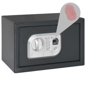 digitaalne seif sõrmejäljelugejaga