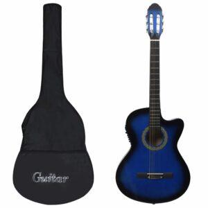 12-osaline Western kitarri komplekt ekvalaiser