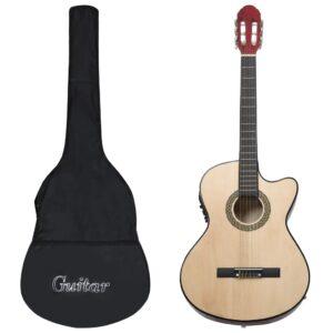 12-osaline Western kitarri komplekt ekvalaiseriga