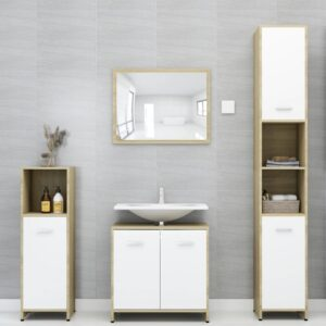 4-osaline vannitoamööbli komplekt