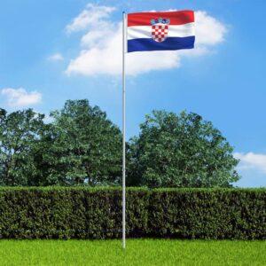 Horvaatia lipp ja lipumast
