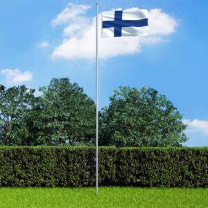 Soome lipp ja lipumast