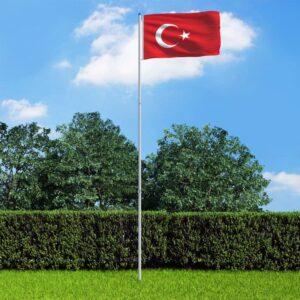 Türgi lipp ja lipumast