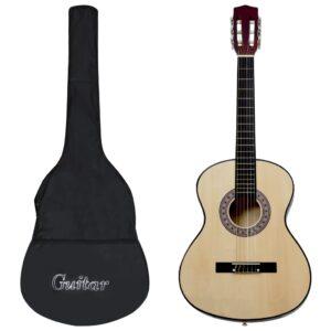 """klassikaline kitarr algajatele kotiga 4/4 39"""""""