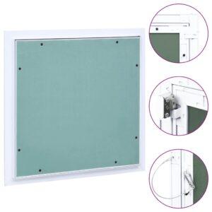 ligipääsupaneel alumiiniumraami ja kipsiga 200 x 200 mm