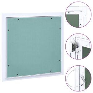 ligipääsupaneel alumiiniumraami ja kipsiga 400 x 400 mm