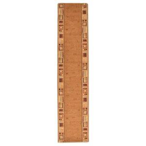 vaipkate beež geelja tagaosaga 67 x 300 cm