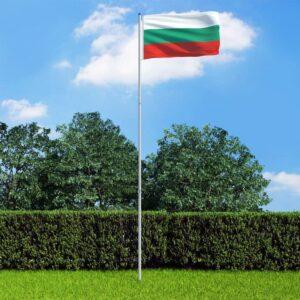 Bulgaaria lipp ja lipumast