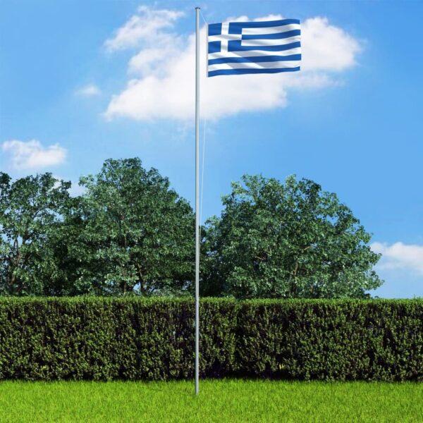 Kreeka lipp ja lipumast