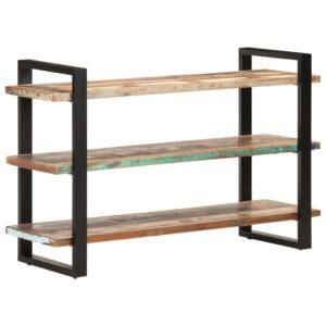 puhvetkapp 3 sahtliga 120 x 40 x 75 cm taastatud puit