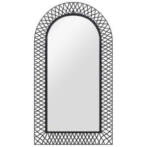 seinapeegel kaarega 60 x 110 cm must