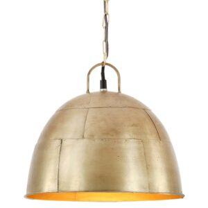 tööstuslik vanaaegne laelamp 25 W messing