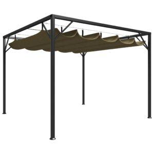 varjualune eemaldatava katusega 3 x 3 m