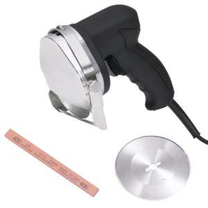 elektriline döner kebabi viilutaja 2 tera ja luisuga 100 mm