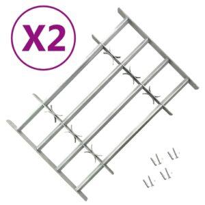 reguleeritavad turvatrellid akendele 2 tk 1000–1500 mm