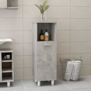 vannitoakapp betoonhall 30 x 30 x 95 cm puitlaastplaat