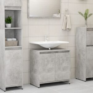 vannitoakapp betoonhall 60 x 33 x 58 cm puitlaastplaat