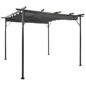 lehtla eemaldatava katusega 3 x 3 m