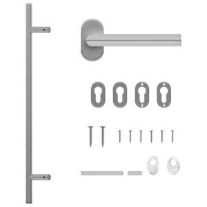 ukselingi ja ukseraami komplekt PZ 800 mm roostevabast terasest