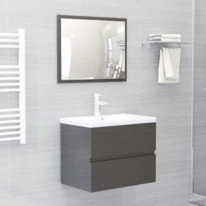 2-osaline vannitoamööbel