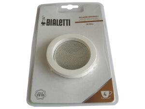 3 tihendit + filter Bialetti Brikka 4 tassi 0800014