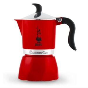 Espressokann Bialetti Fiammetta 3 tassile punane