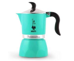 Espressokann Bialetti Fiammetta 3 tassile roheline
