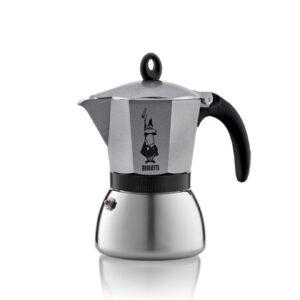 Espressokann Bialetti Moka 6 tassile induktsioonpliidile antratsiithall